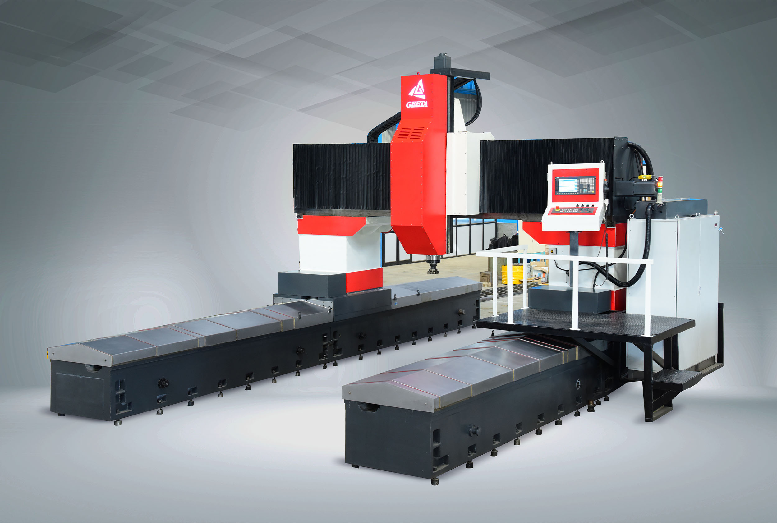 CNC Moving Column Gantry Type Vertical Machining Centre