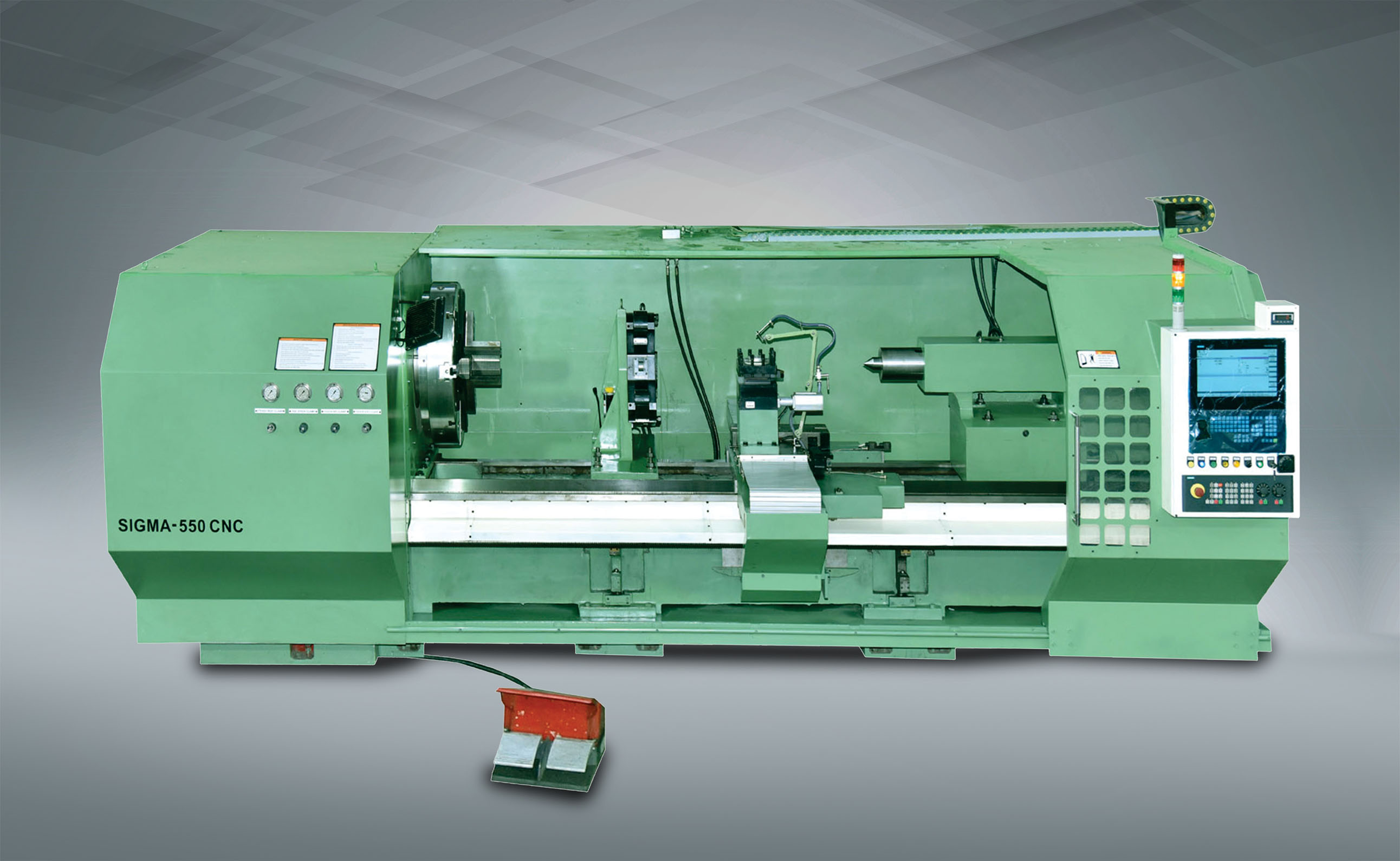 CNC Heavy Duty Lathe Machine