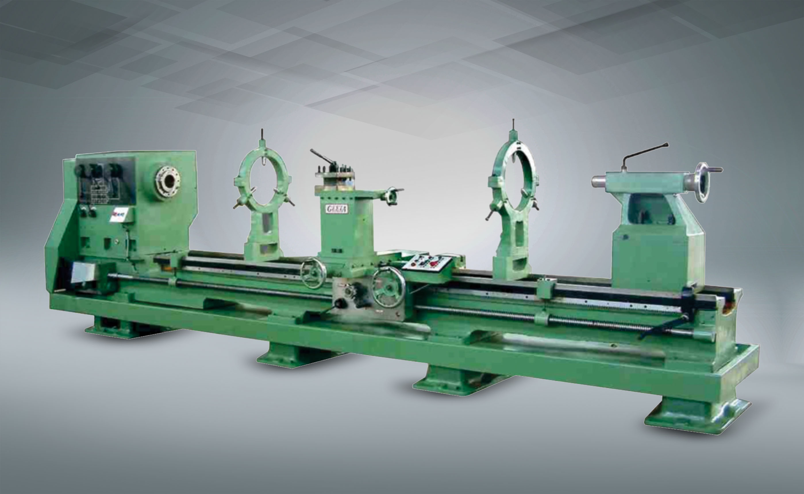 All Geared Heavy Duty Lathe Machine